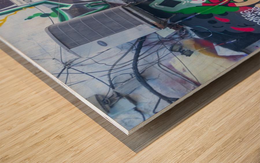 Torontos Graffiti Alley 32 Wood print
