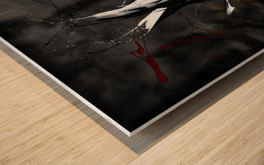 3273   univers pluton Wood print