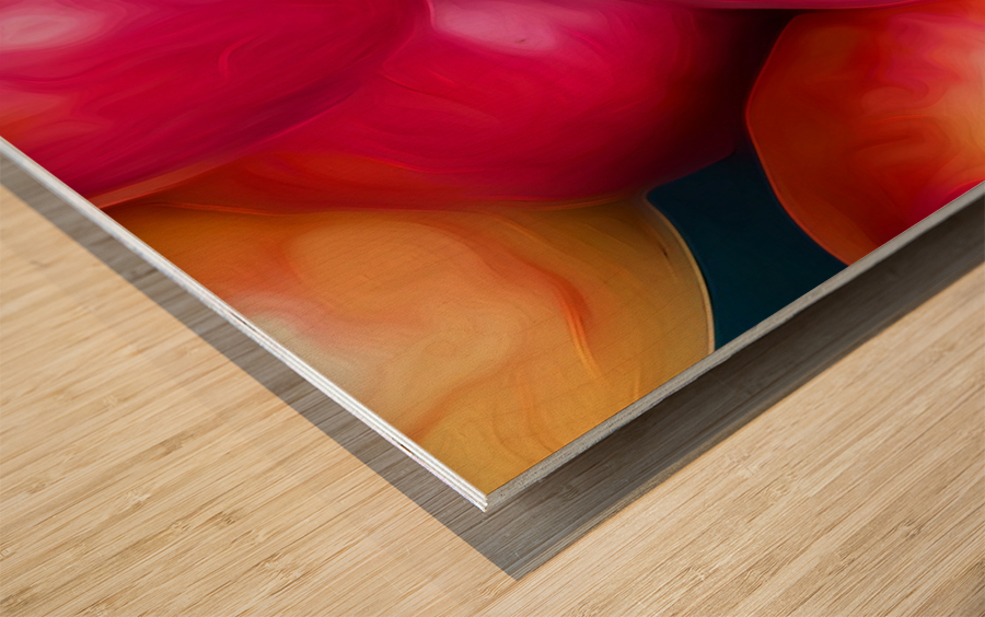 A Slice Of Apples Wood print