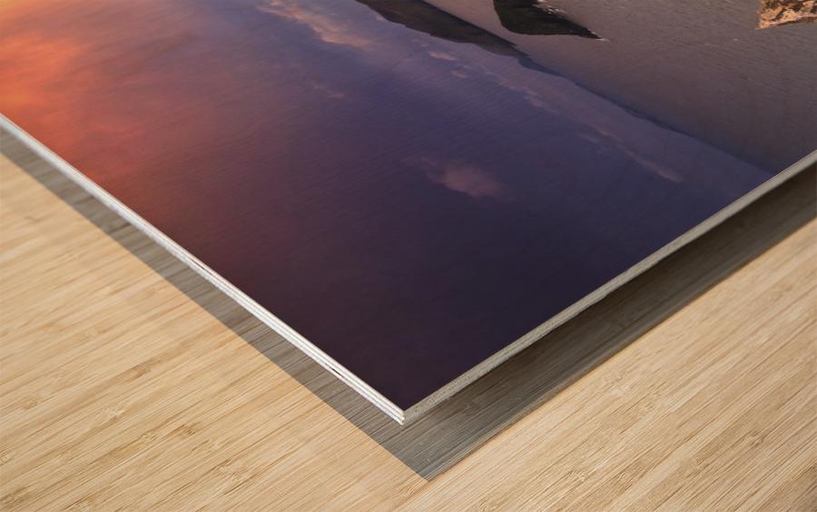 KY 602 Blasket Island Sunset Wood print