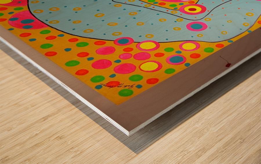 flexible Wood print