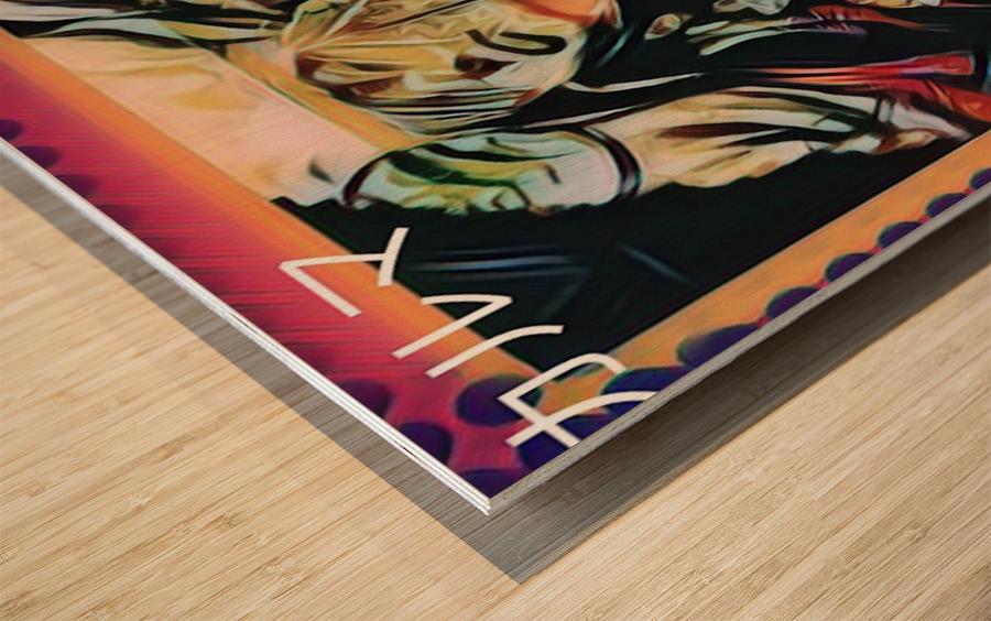 Sex Sells Wood print