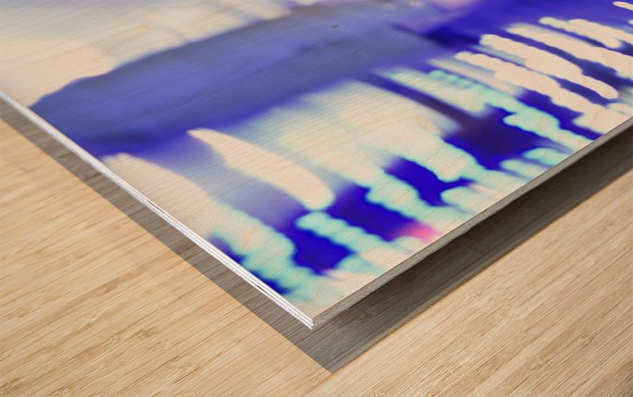 Move Wood print