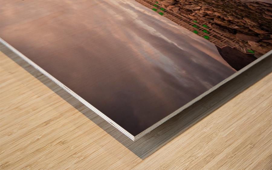 Grand Etang Wood print
