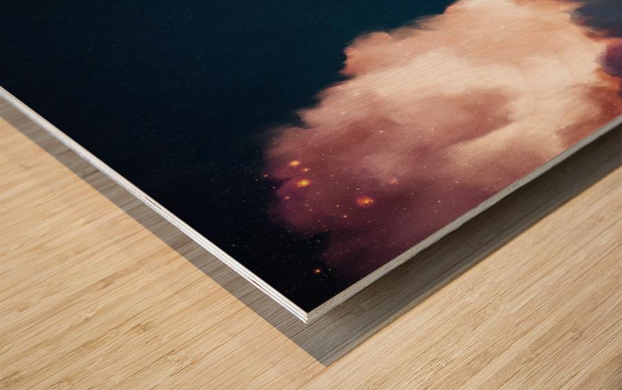 Intrepide No. 6 Square Wood print