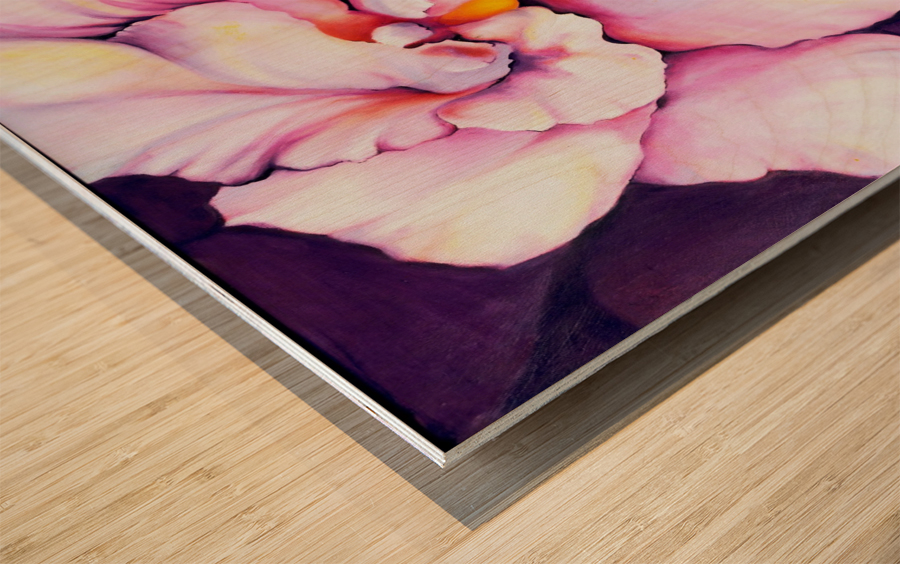 THE ORCHID Wood print