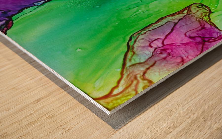 Big Green Wood print