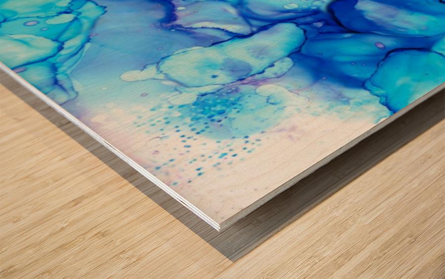 Shades of Sadness Wood print