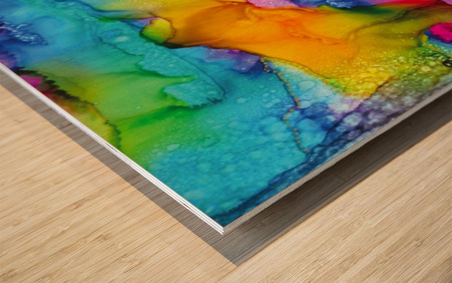 Renew  Wood print