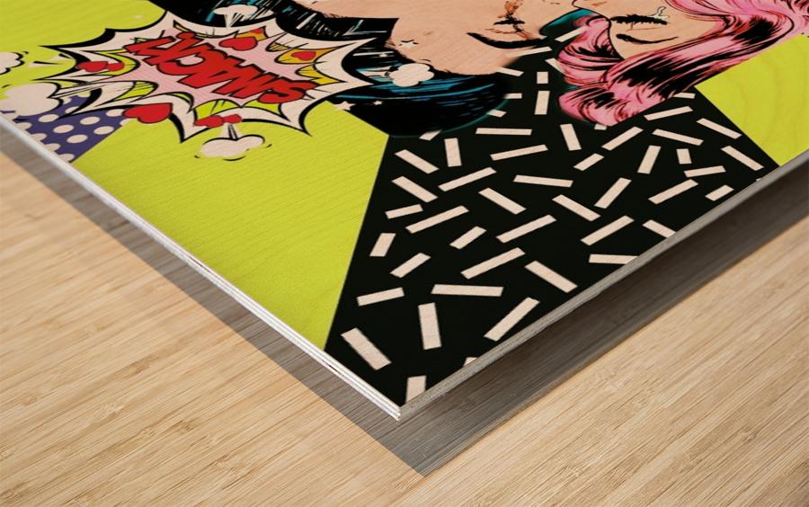 8 Wood print