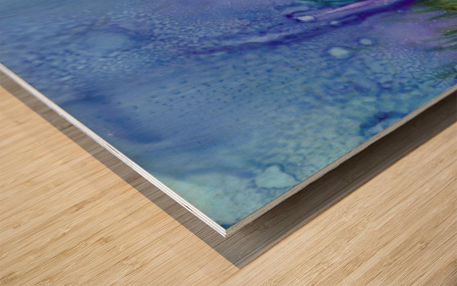 One Wood print