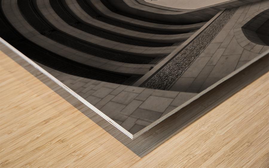sultan qabos mousqe Wood print