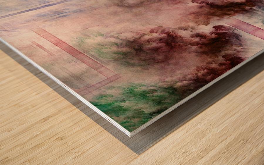 CONNEG HFAA Fractal Art Wood print