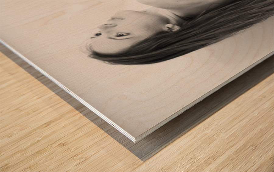 art_nude 31 Wood print