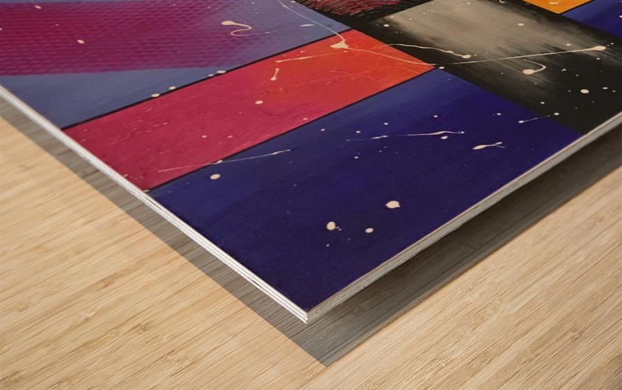 DREAMSCAPE Wood print