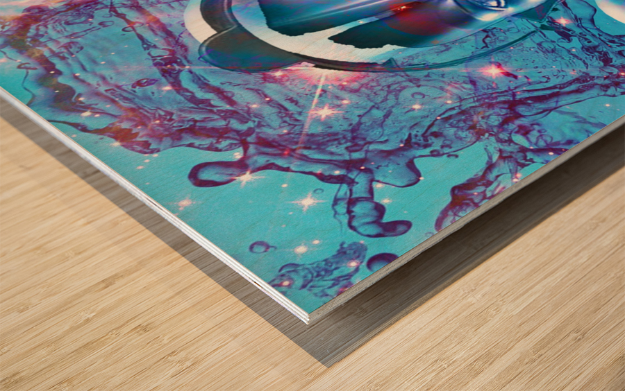 Robot Transcendence Wood print