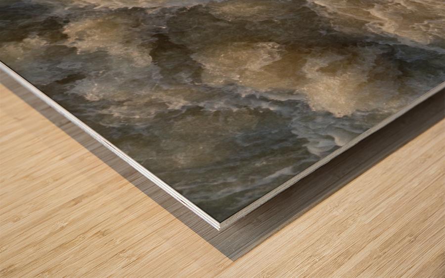Rapids Wood print