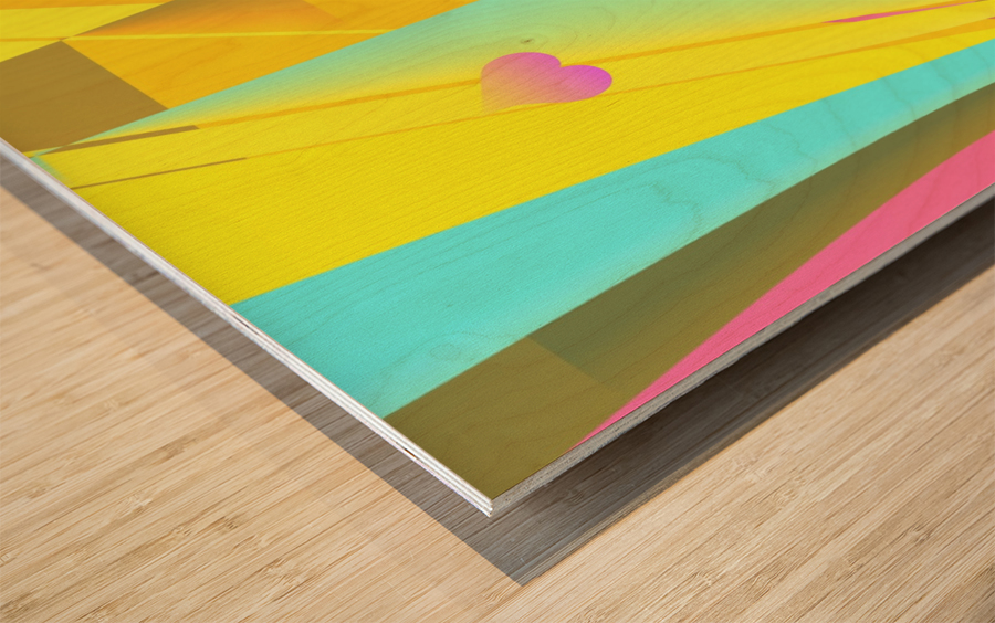 love bond 82918 H Wood print