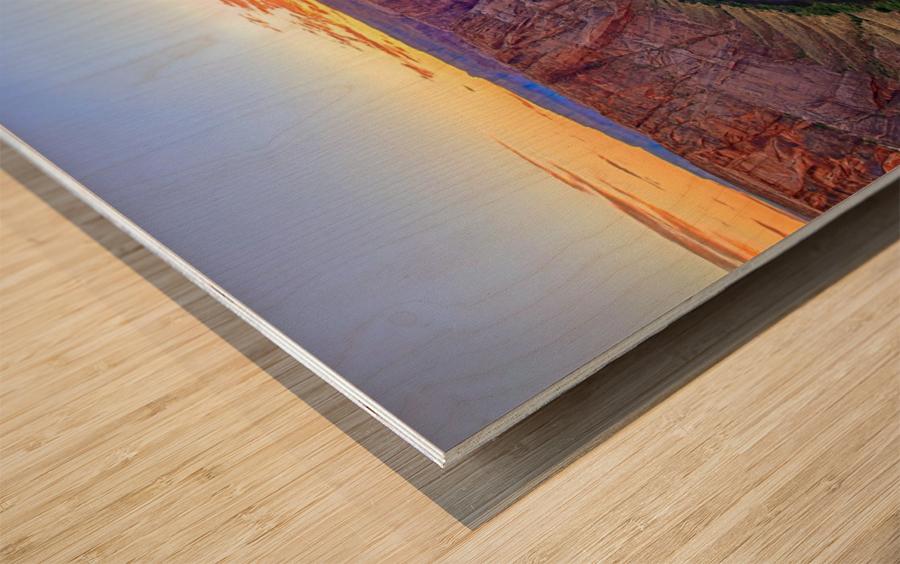 Horseshoe Bend Wood print