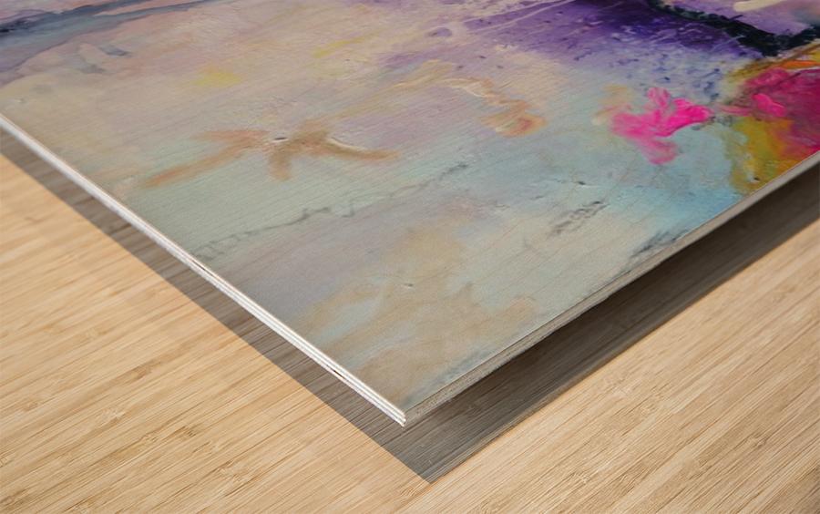 Abstract 32 Wood print