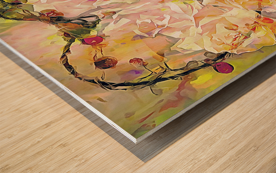 I Will Love You Always Wood print