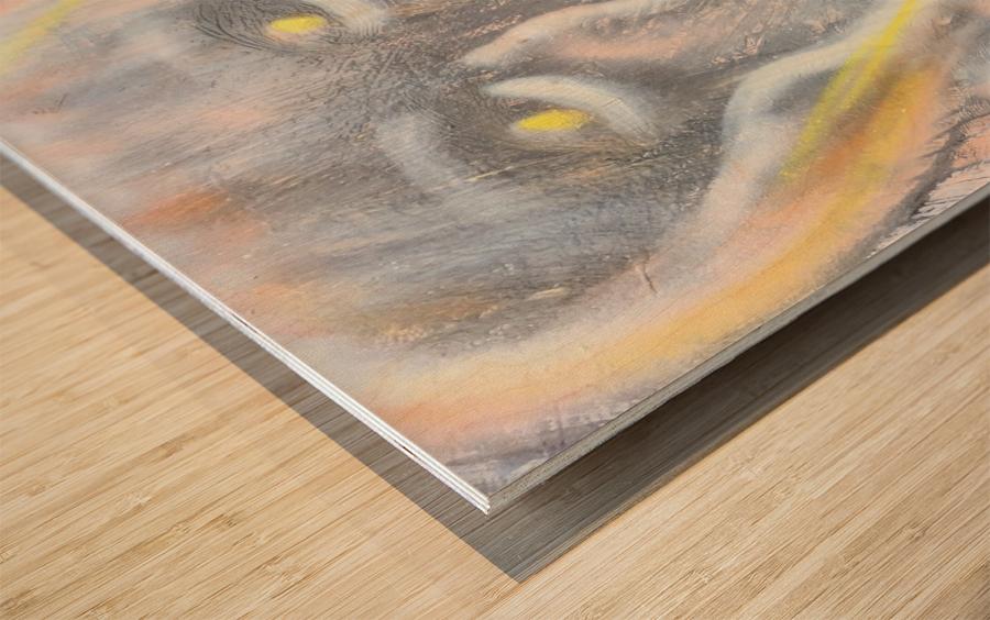 amita soul  Wood print