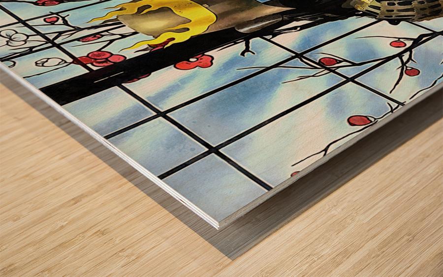 Memories of Samurai 7 Wood print