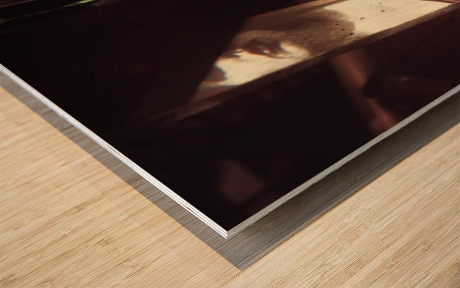 Intermédialité Wood print