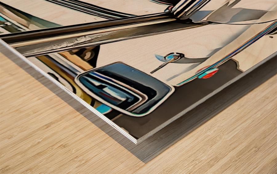 Autobianchi Bianchina Through The Window Wood print