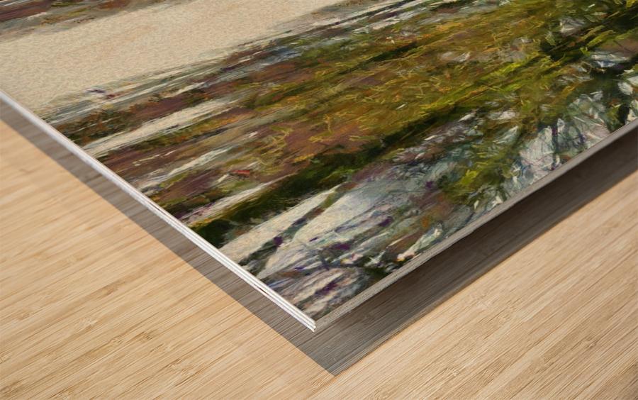 Cemetry Road Wood print