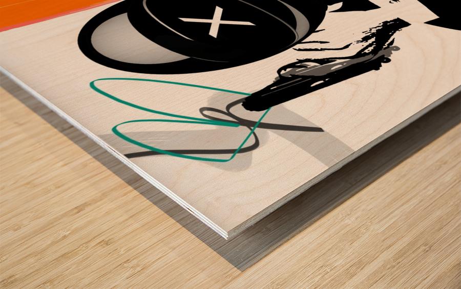 Buggatti Italia Wood print