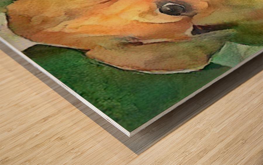 Dog Painting (20) Wood print