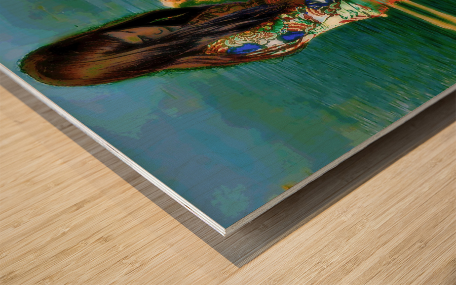 Deep Thoughts Wood print