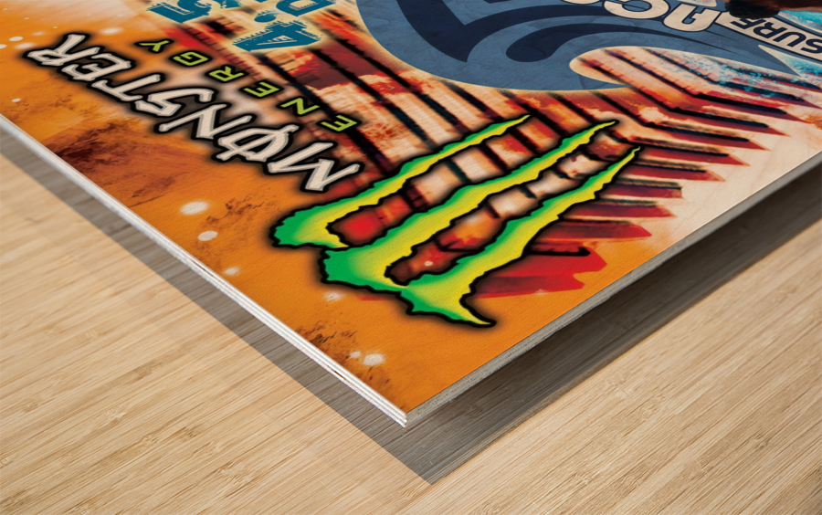 2013 ACAPULCO PRO Surf Competition Print Wood print