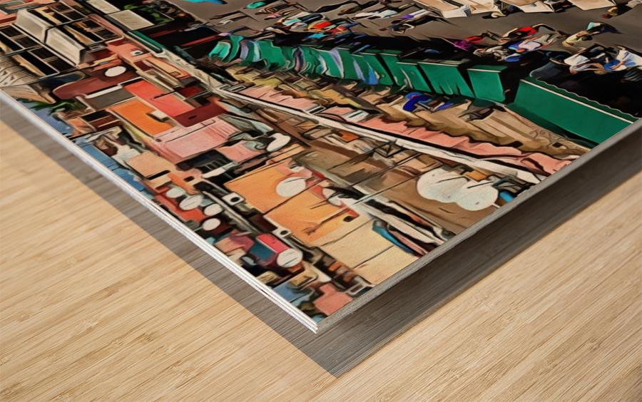 View Over Jemaa el Fnaa 1 Wood print