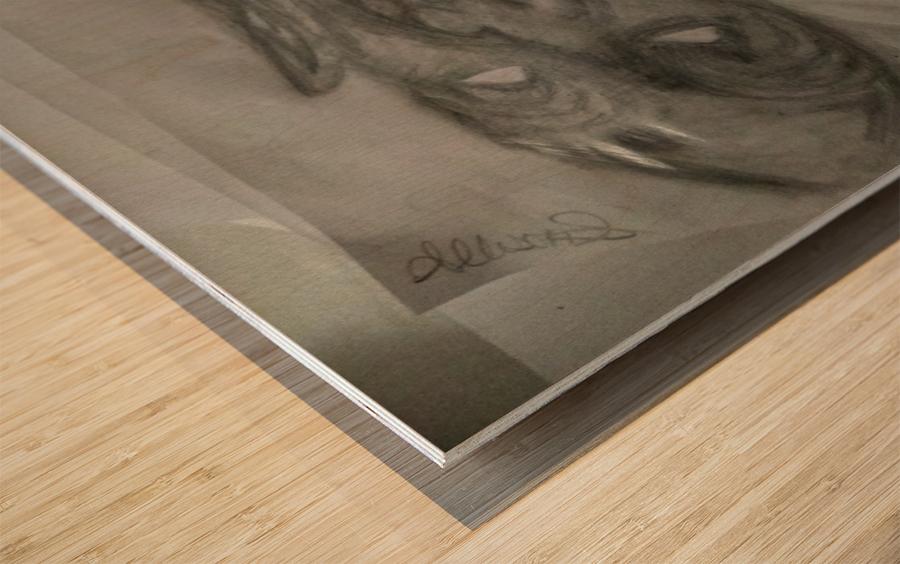 2faced Wood print