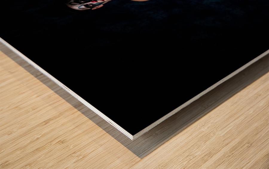 Le Bouffon Wood print