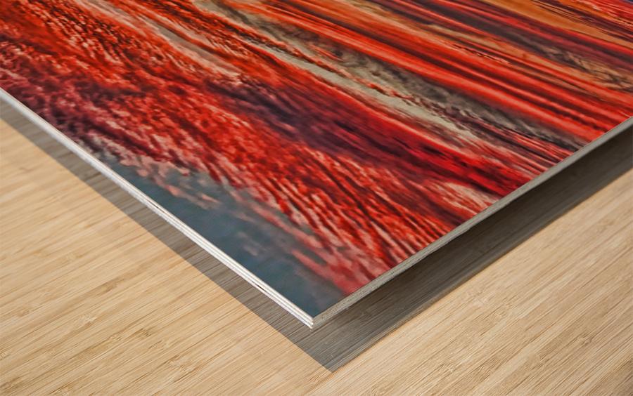 Tropical Gulf Nights Wood print