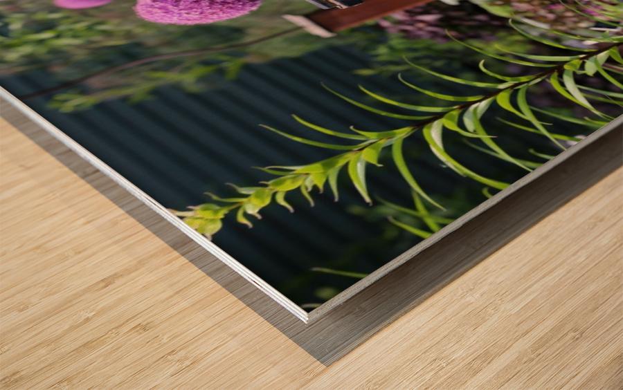 In the Garden 2018 Wood print