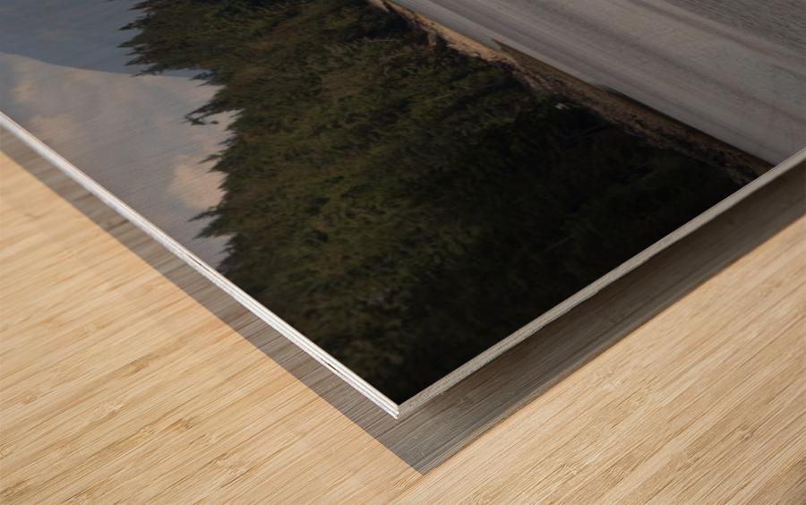 Lund  Wood print
