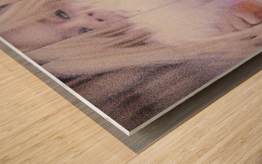 Brigitte Wood print