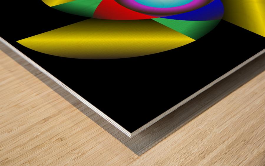 1-The Golden Ratio Wood print