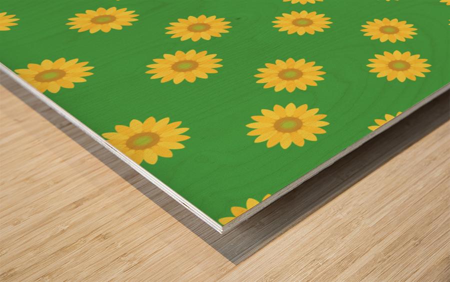 Sunflower (38)_1559875865.3493 Wood print