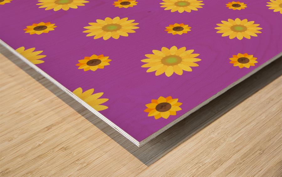 Sunflower (7)_1559876172.0135 Wood print