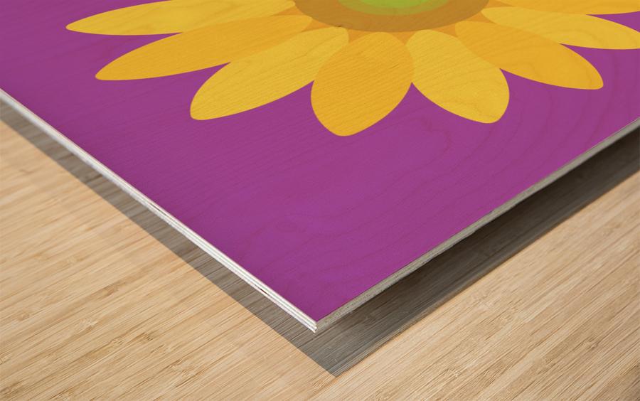 Sunflower (11)_1559876168.1472 Wood print