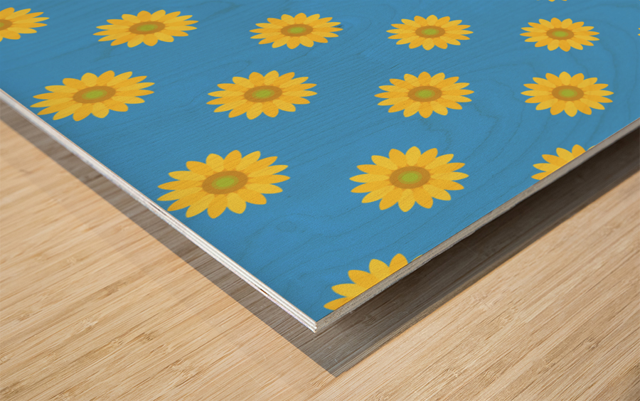 Sunflower (36)_1559876252.5461 Wood print