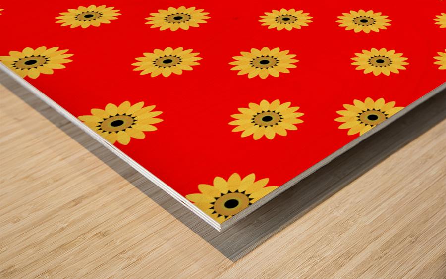 Sunflower (43)_1559876736.3891 Wood print
