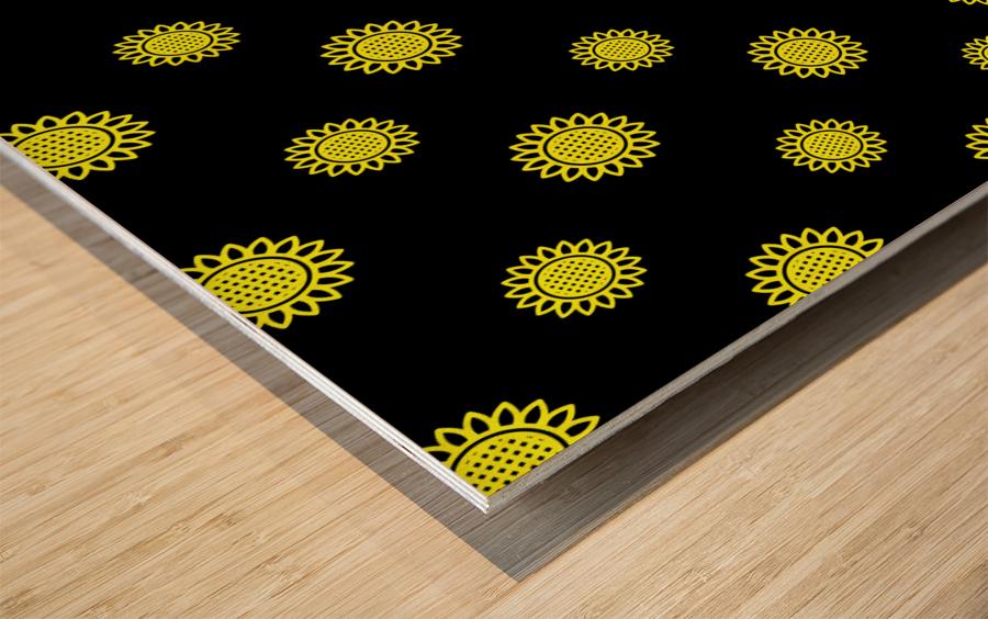 Sunflower (24)_1559876737.3838 Wood print