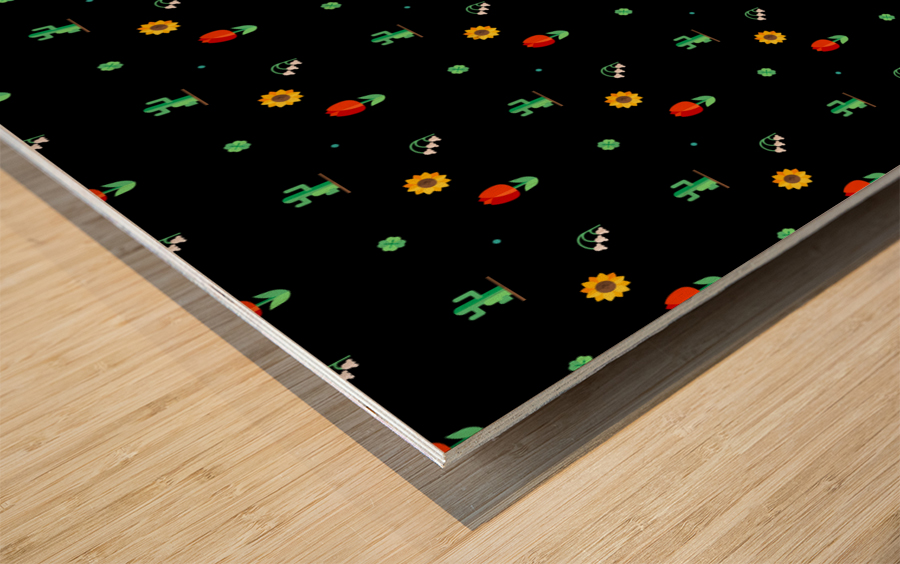 www.6ii7.blogspot.com      Flower (4) Wood print