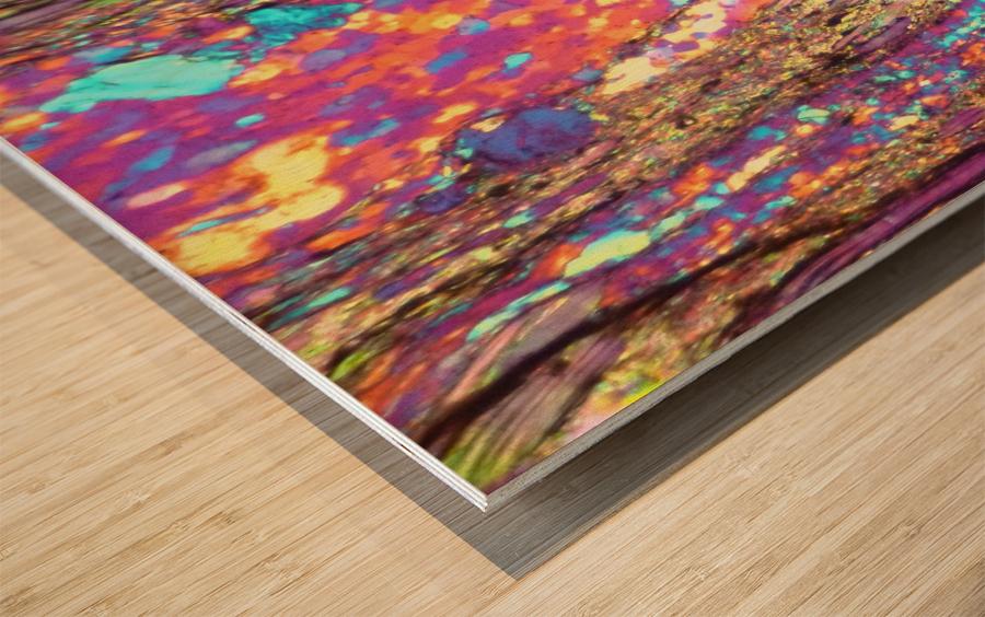 Untitled (2015) Wood print